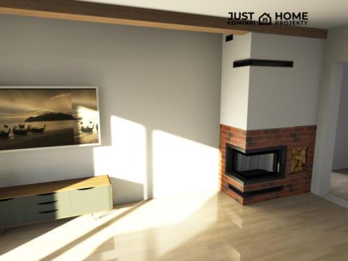 belka drewniana zabudowa do sufitu